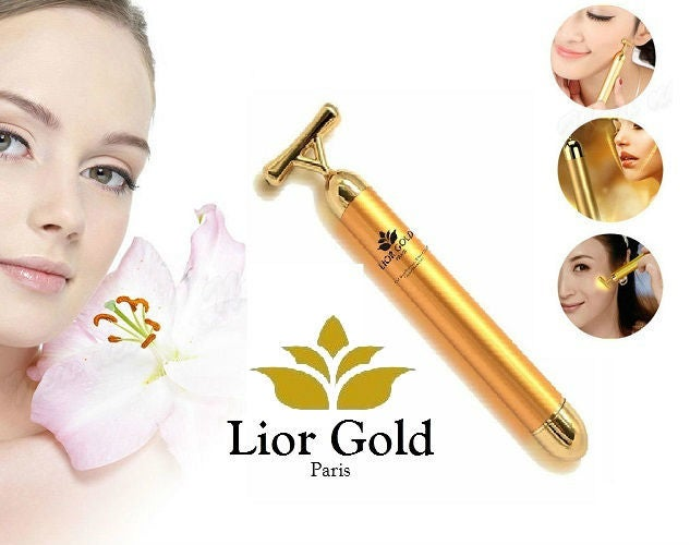 Lior Gold Paris 24K Facial Massager