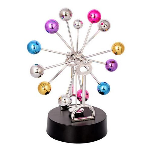 1Pcs Ferris Wheel Multicolor Rotary Perpetual Motion Desk Science Office Decoration