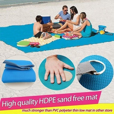 150*200cm  Magical Sand Free Mat Beach Blanket Sand Proof Outdoor Yard Picnic Ca