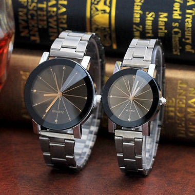 2018 Lovers Wrist Watch Valentine's Day gift Radial Steel Strip Meteor Alloy Wri