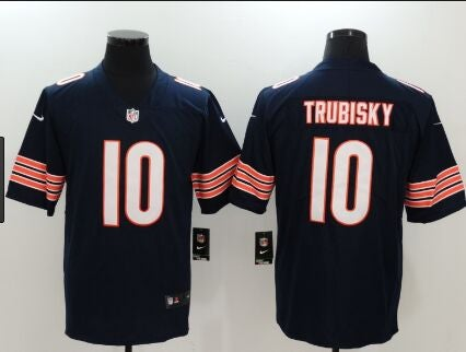 Chicago Bears #10 trubisky blue Youth Jersey