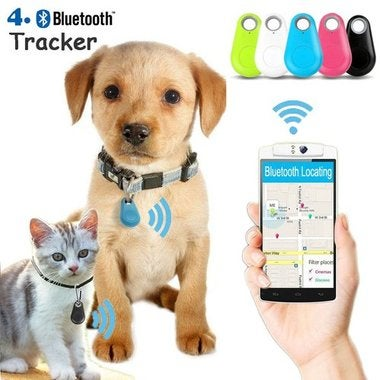 Bluetooth 4.0 Key Finder Anti-lost Alarm Mini Finder Locator GPS Tracker Child P