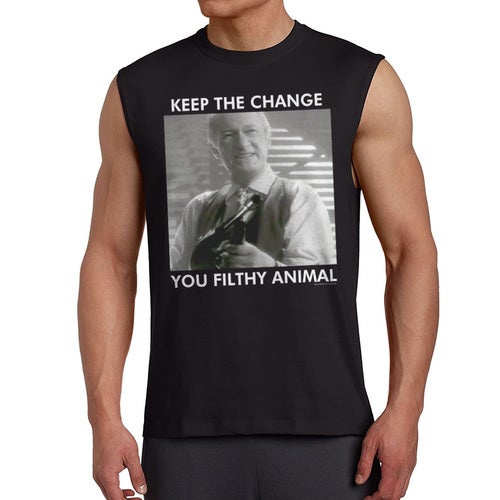 Home Alone Keep The Change Filthy Animal Men's Black Sleeveless