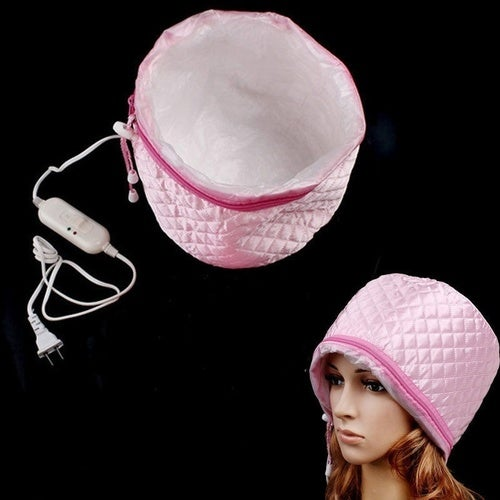 Home Use Hair Thermal Treatment Beauty Steamer SPA Cap Nourishing Hair Care Hat