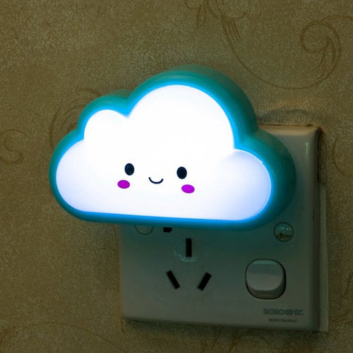Led Night Lamp Bright White Milk Bottle Cloud Led Nightlight Baby Pillow Gift New Year Home Decoration Lights