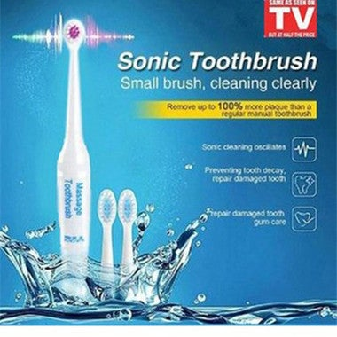 Free shipping ! Sonic Massage Brush Family Pack Electric Toothbrush Fur Adult Ch