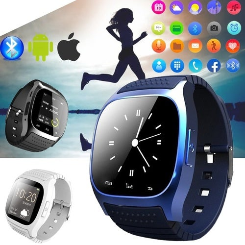 2019 New Original Stock Bluetooth Smartwatch Smart Watch M26 Wristband  Bracelet Band Heart Rate Smartband Activity Tracker Fitness for IOS Android