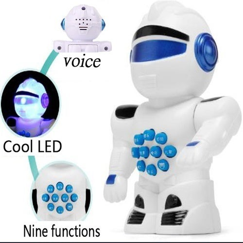 CN LED Early education robot, intelligent early childhood music story, nursery rhyme robot, nine functions