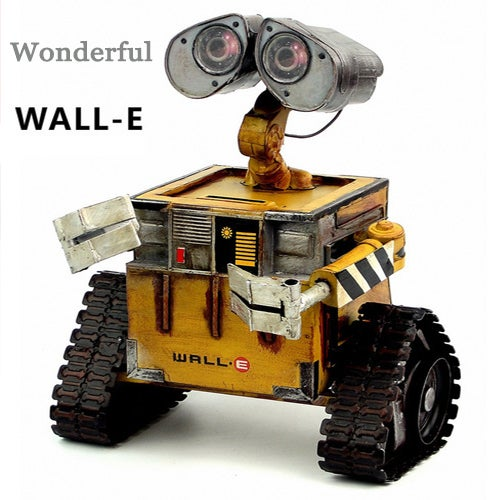 Newest Wonderful New Wall-E Robot Movie model Cold-rolled steel Metal Action Figure Toy Doll robote personal Handmade crafts juguetes figuras wall e