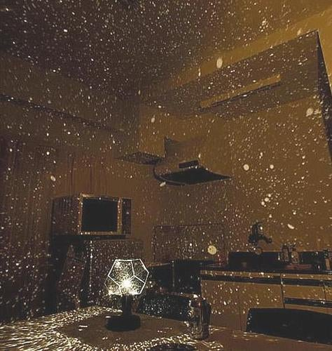 Home Decor Romantic Astro Star Sky Projection Cosmos Night Lamp Starry Night Romantic Bedroom Decoration Gadgets 3 Colors