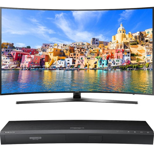 Samsung 65 KU7500 Curved 4K UHD Smart LED TV + Samsung UBDK8500 4K UHD Blu-Ray Player