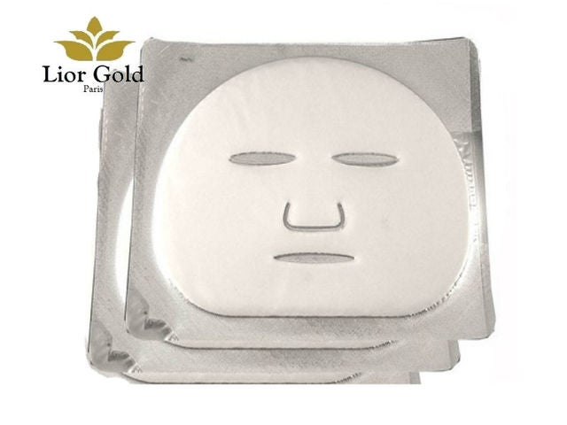 2 Pieces Lior Gold Diamond Age-deying Facial Mask