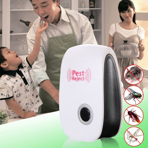 1 PCS Electronic Anti Mosquito Killer Multi-Purpose Ultrasonic Repeller Rat Repellent
