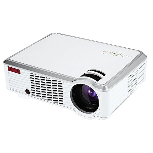 LED - 33 LCD Projector Media Player 2600 Lumens 854 x 540 Pixels for Home Office Education