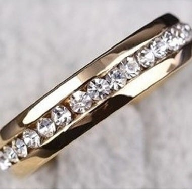 Buyone get one for $5 !!!! Stainless steel eternity band size 4-13