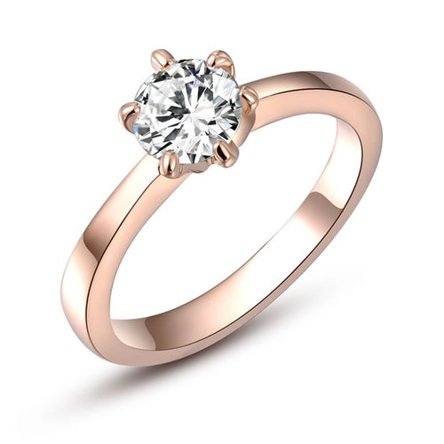 Roxi Hot Classic New Fashion Gold Plated Ring Fine Jewelry Charm for Women Wedding Gift Engagement