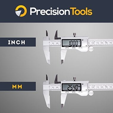 Premium Quality Digital Stainless Steel Caliper-By Precision Tools – LCD Screen