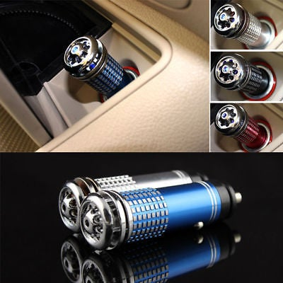 Mini Auto Car Home Fresh Air Ionic Purifier Oxygen Bar Ozone Ionizer Cleaner