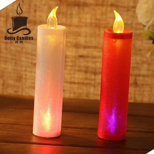 Homemory Realistic and Bright Flickering Bulb Battery Operated Flameless LED Tea Light for Seasonal & Festival Celebration Electric Fake Candle in Warm