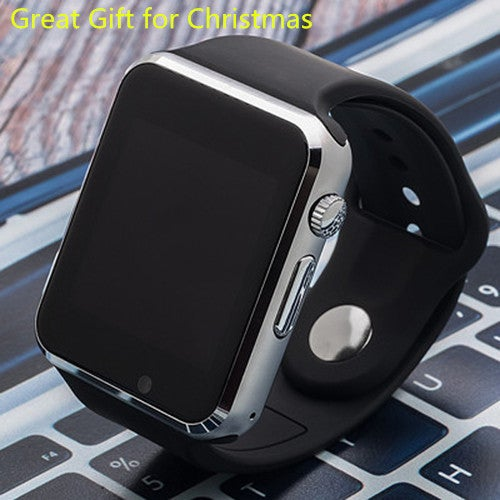 Great Gift for Christmas Bluetooth Smart Watch Sport Pedometer with SIM Slot Camera Smartwatch for Android IOS Phone