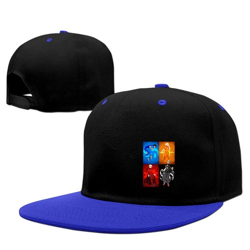 homestuck trolls Adult Snapback Hip Hop Adjustable Print Baseball Caps Flat Hat