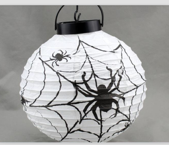 Halloween decorations LED Pumpkins lantern jack skeletons spiders bats haunted house bar party props supplies gift for Kids free