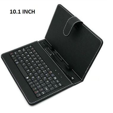 10.1 INCH Happy New Year! Hot ! Universal Tablet PC Keyboard Flip Stand Case Key