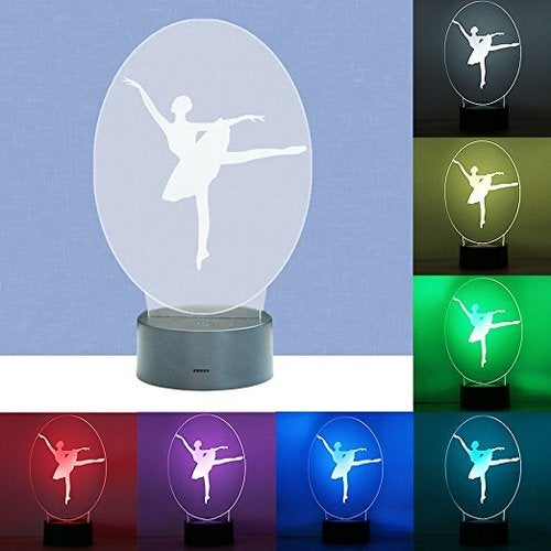 Great Gift for Christmas Beautiful Ballerina Light