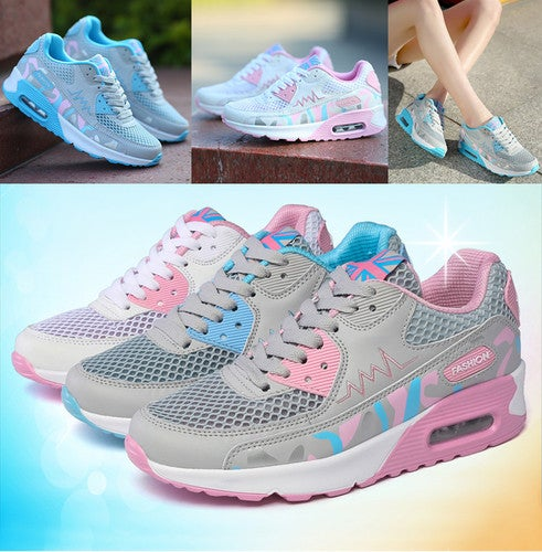 New Outdoor Women's Fashion Sneakers Sport Breathable Casual Running Shoes