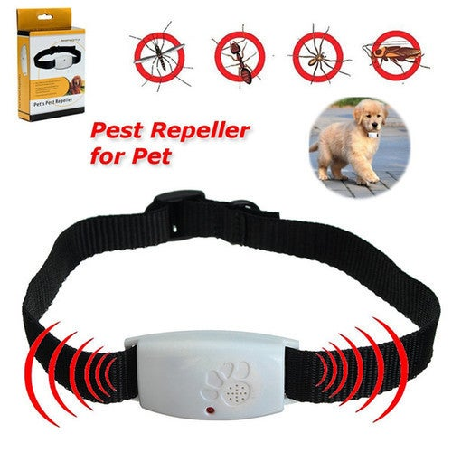 Ultrasonic Dog Repeller with LED Indicator Repells Flea Ticks and Mosquito