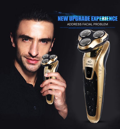 Men's Best Gift 4D Floating Rotary Electronic Shaver Newest 3188S