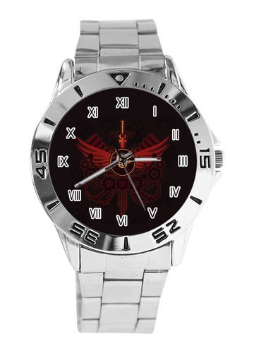 Homestuck Custom Casual Stainless Steel Band Dress Wrist Watch