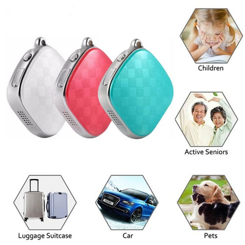 Mini GPS Tracker A9 For Kids Children Tracking Device GPS + LBS + Wifi 5 Days Standby SOS Alarm Voice Monitoring