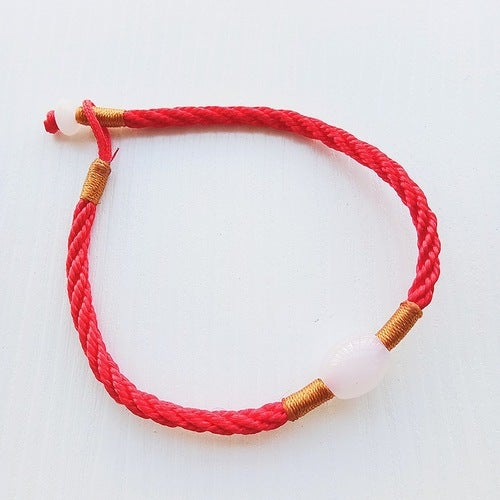 This year red rope bracelet Lucky evil hand-woven red rope bracelet wholesale red rope bracelet