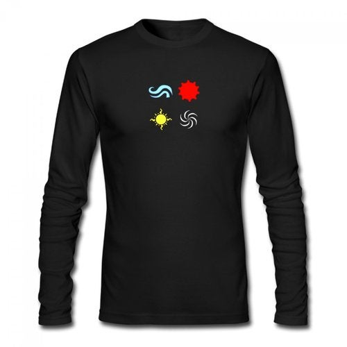 homestuck god tier symbols game Men's Long Sleeve T-shirt