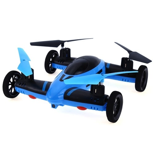FENG NIU FN668 2.4G 8CH 6-Axis Gyro RC Quadcopter Land Sky 2 in 1 Model