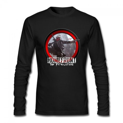 Homefront The Revolution 2016 Logo Men's Long Sleeve T-shirt