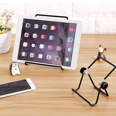 Afesar Universal Tablet Stand Mobile Cellphone Metal Dock holder Bracket For ipa