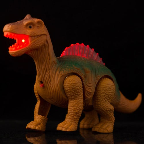 Electric Walking Dinosaur Toys Glowing Dinosaurs with Sound Animals Model Toys for Kids Children Interactive Toys Gift