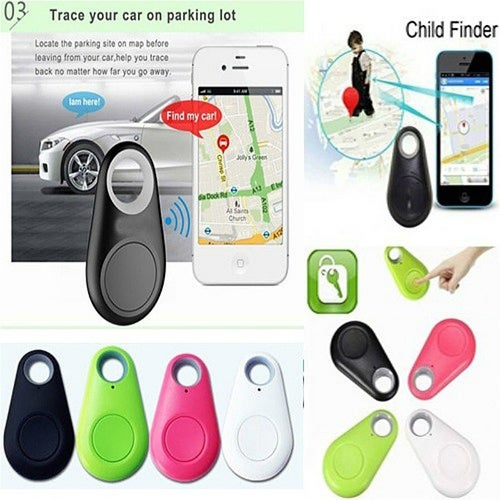 Smart Bluetooth Tracker GPS Locator Key Wallet Pet D