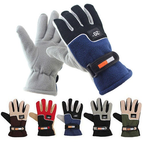 New Cycling Bike Bicycle Motorcycle Racing Ski Winter Sports Full Finger Gloves