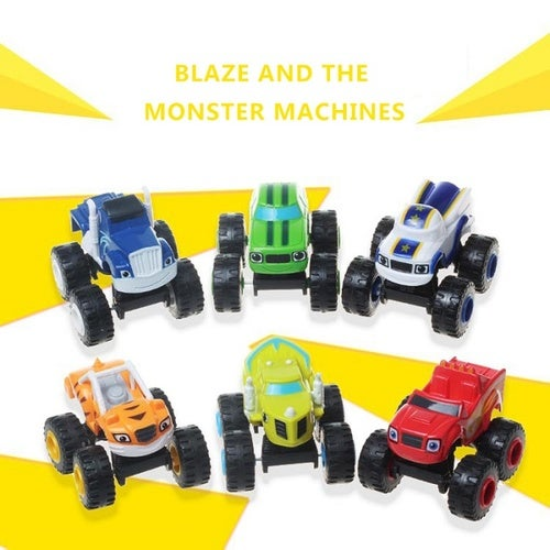 Nickelodeon Blaze & the Monster Machines, Blaze Vehicle