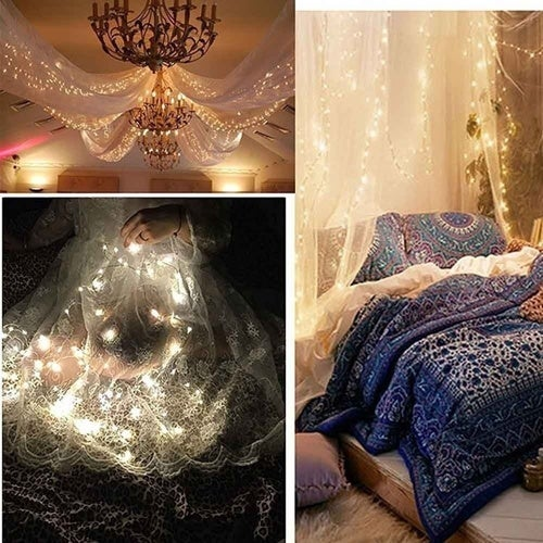2 Meters 20 Lights Romantic LED Light For Party Wedding Wedding Home Occasion Decoration Best For Romantic Style Decoration