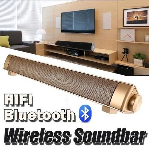 Home TV Computer Super Bass Sound bar Wireless Bluetooth Stereo Speakers for Mobile Phone
