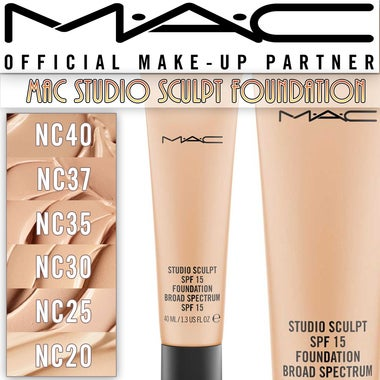 MAC STUDIO SCULPT SPF 15 FOUNDATION $39 MSRP! PREEMINENT PRODUCT!