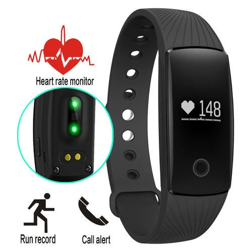 Best Bluetooth Smart Watch Bracelet Fitness Heart Rate Monitor for Android IOS ID107