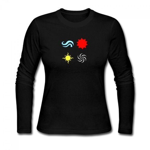 homestuck god tier symbols game Women's Long Sleeve T-shirt