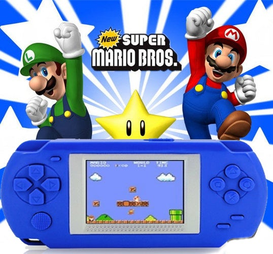 2017 Classic Portable Console Portable Video Game Handheld Player Built-in 268 Games Model 888