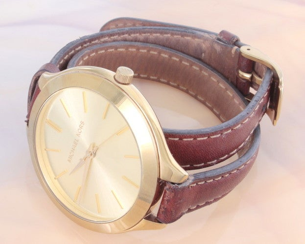 d211d67be643 Michael Kors Women s MK2256 Runway Watch With Brown ...