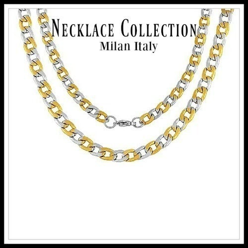 "23"" Design Curb Chain Necklace sm954"